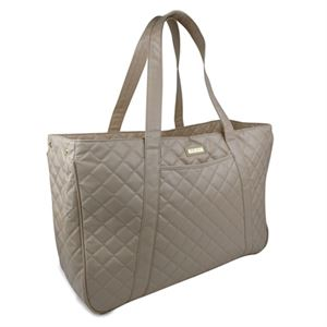 Picture of Gigi Hill Brigitte Tan Quilt Weekender